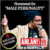 Best Male Personality Nominee - Ali Al Sayed