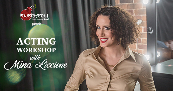 Acting workshop header image